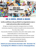"""""""Wear a Mask"""" Contest"""
