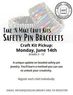 T&M - Safety Pin Bracelets