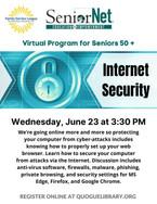 Senior Net Internet Security