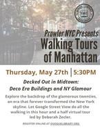 Prowler NYC: Walking Tours of Manhattan
