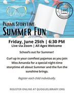 PJ Storytime Summer Fun