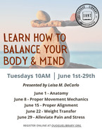 Learn How to Balance Your Body & Mind