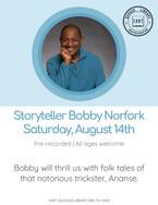 Storyteller Bobby Norfork