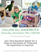 Calling All Makerbots