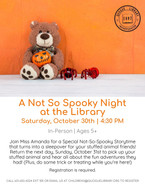 A Not So Spooky Night at the Library