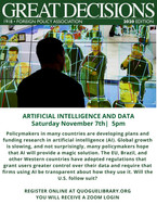 FPA: Artifical Intelligence and Data