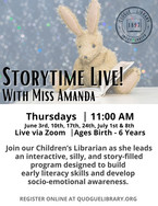 Storytime with Miss Amanda