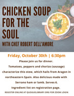 Chicken Soup for the Soul Cooking Class