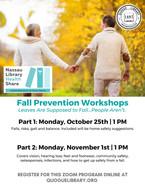 2-Part Fall Prevention Workshop