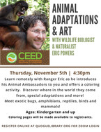 Animal Adaptations & Art
