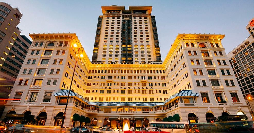 Peninsula Hotel Back office, Hong Kong