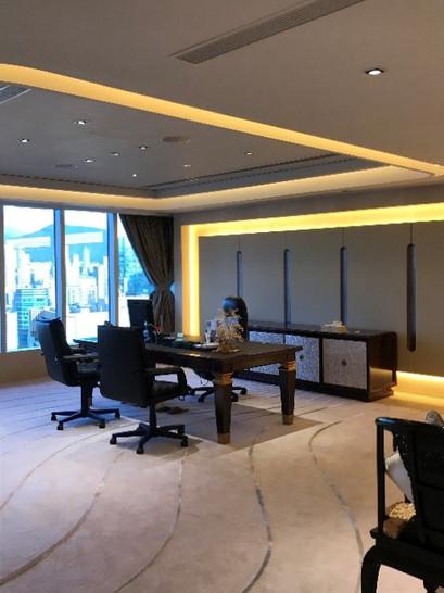 SHIMAO residential showroom at The Center, Hong Kong