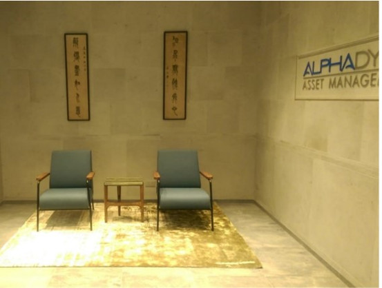 Alphadyne, Hong Kong office fitting-out project