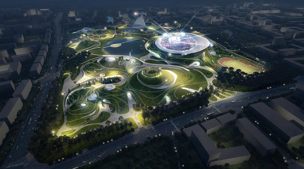 Quzhou Sports Campus, Quzhou, PRC