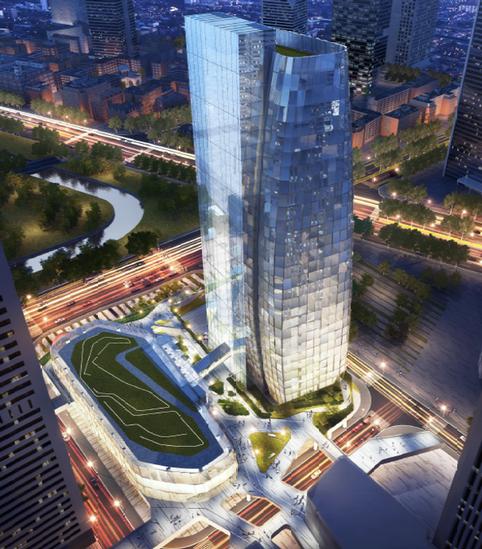 Electric Power Design for Tencent Shanghai BinJiang Project Facade Lighting