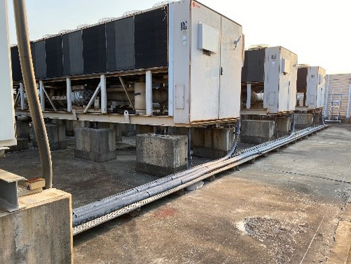 Tradeport Hong Kong Chiler Replacement