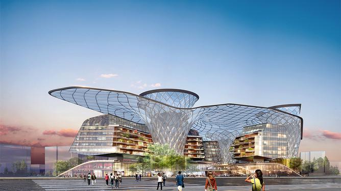 New JiangWan Parkview Green, Shanghai PRC
