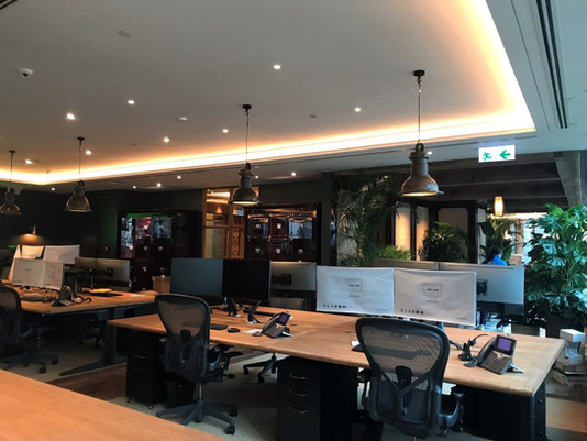 Fitting - out project for Marshall Wace, Hong Kong office expansion and renovation project