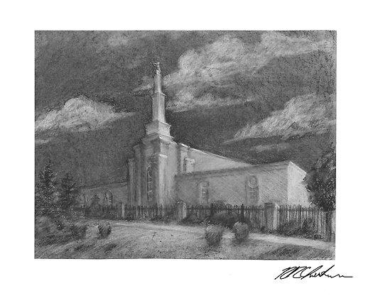 Albuquerque Temple print
