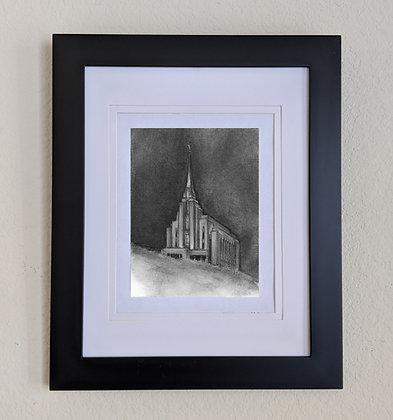 -original drawing Rexburg Temple