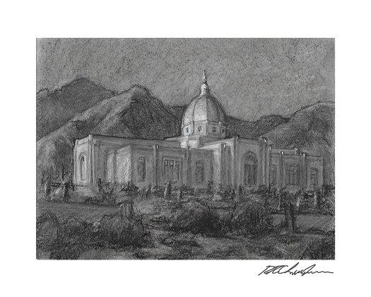 Tucson temple print