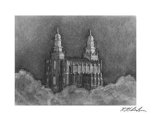 Logan Temple print