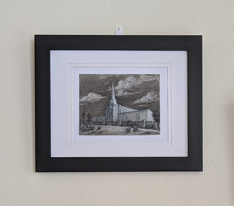 -original drawing- Albuquerque Temple