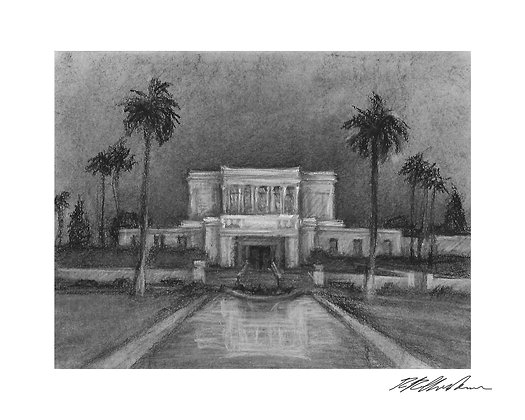 Mesa Arizona Temple print
