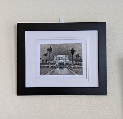 -original drawing- Mesa Arizona Temple