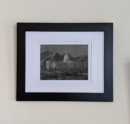 -original drawing- Tucson Temple