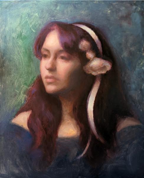 """Rose"" *Painted under the tutelage of Susan Lyon*"