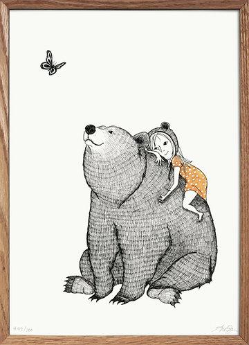 Mig og min bjørn II (krammet)