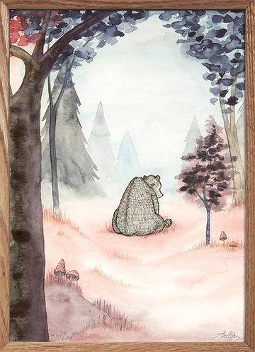 I skoven (fra bogen Bjørnebarn)