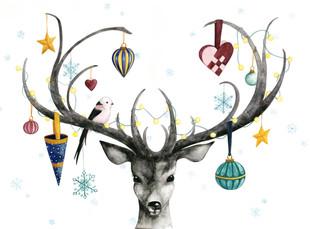 Giving Deer