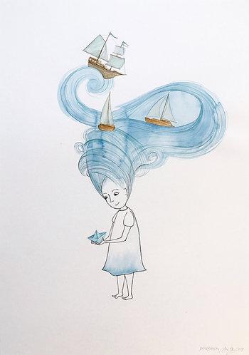 ORIGINAL : Papirbåden
