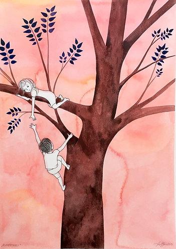 // SOLGT // ORIGINAL : Klatretræet