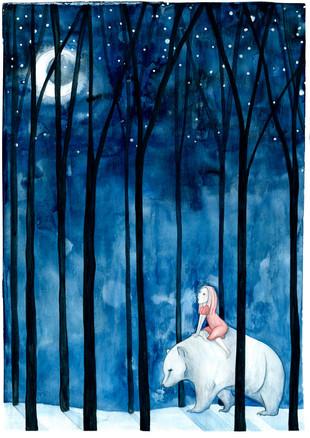 Pigen og Snebjørnen