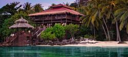 Mainhouse, Beach & Lagoon Breve Azurine Lagoon Resort Karimunjawa