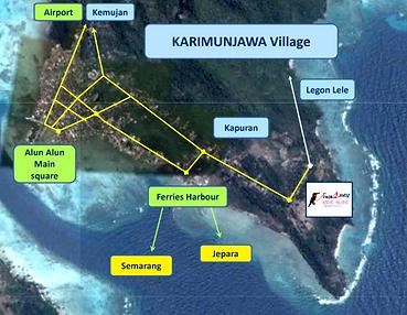 Breve Azurine Lagoon Resort Karimunjawa