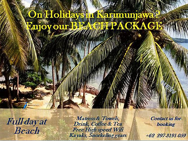 BEACH PACKAGES Breve Azurine Lagoon Resort Karimunjawa