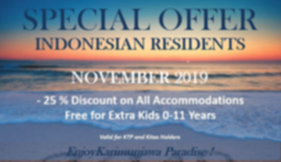 SPECIAL OFFER INDONESIAN RESIDENTS ONLIN