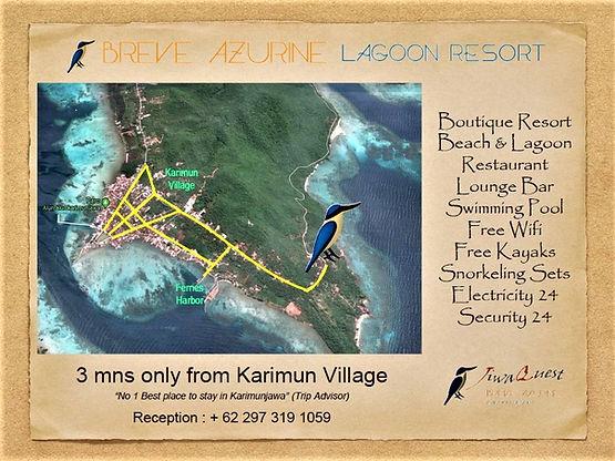 2 Restaurants & Bars Breve Azurine Lagoon Resort Karimunjawa