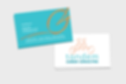 Logo, Business Card, Tandem Bicycle, Career Consultant
