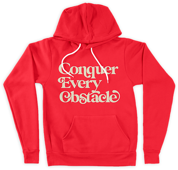 Classic CEO Hoodie (Red)