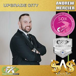 SWS WELCOME UPGRADE CITY - ANDREW MERCIE