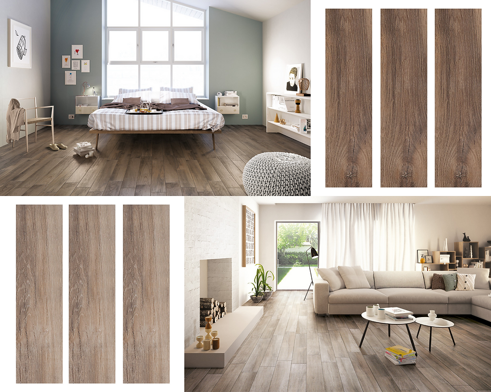 Treverkmood wood effect tile from Brian Pyne Tiles