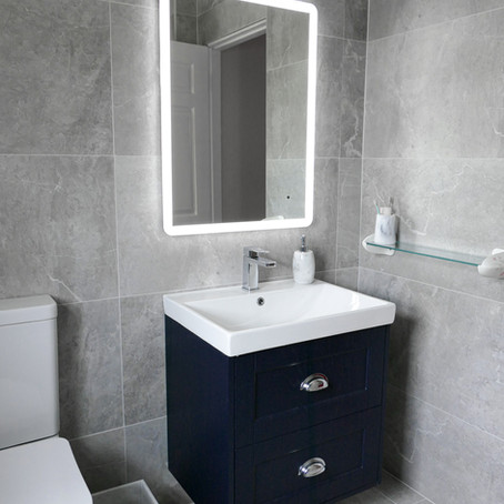 Modern Bathroom & En-suite Customer Renovation
