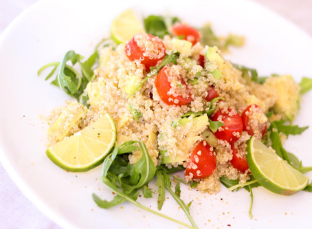 Featured Recipe: Mediterranean Quinoa Salad