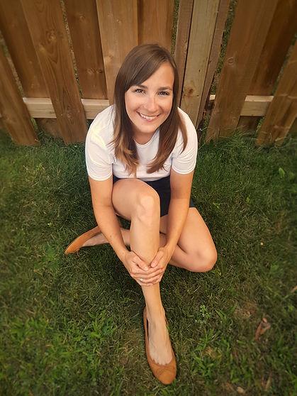 Dr. Melyssa, grass, wood fence