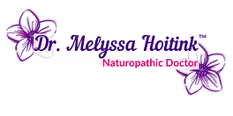 Dr. Melyssa Hoitink, ND Logo with TM and